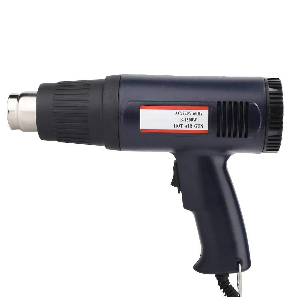 Deux Niveaux de D/ébit d/'Air /à Temp/érature R/églable Pistolet /à Air Chaud D/écapeur Thermique 1 T/ête de Pistolet 220V 300//500℃
