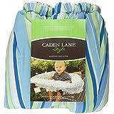 Caden Lane Circle Dot Shopping Cart Cover, Blue, One Size
