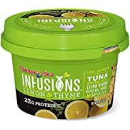 Chicken of the Sea Infusions Tuna, Lemon & Thyme, 2.8 Oz Cups (Pack of 6)