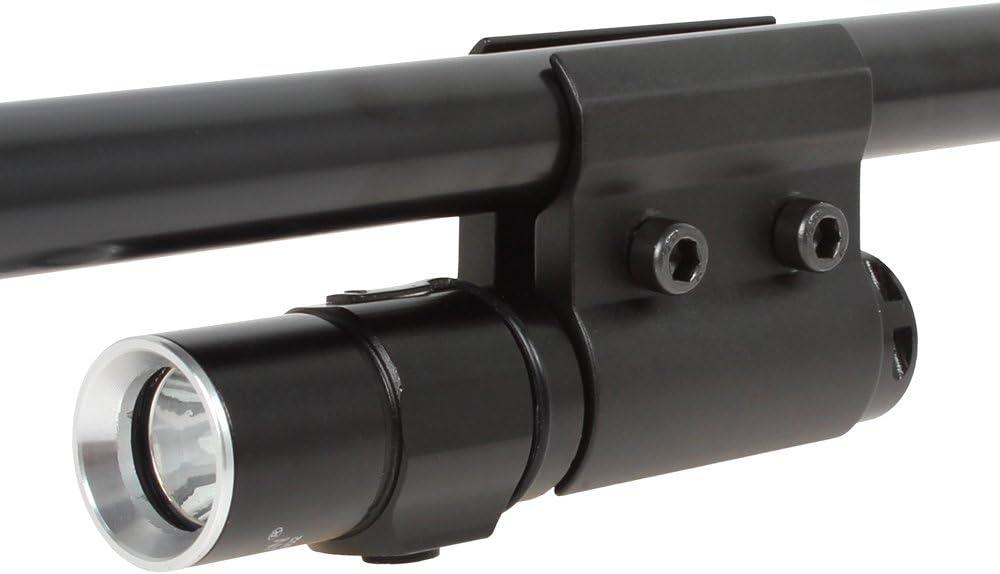Origlam® QQ06para linterna de aleación de aluminio, barril soporte linterna, barril anillo de montaje con llave hexagonal para la instalación de linterna, láser Monumentos Alcance