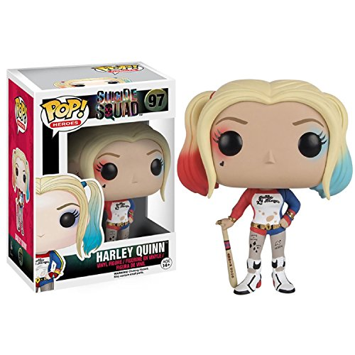 Funko POP Movies: Suicide Squad Action Figure, Harley Quinn - Harley Quinn Batman Arkham Knight Costume