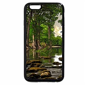 iPhone 6S / iPhone 6 Case (Black) Tree roots near river