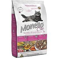 MONELLO CAT DRY FOOD SALMON TUNA AND CHICKEN FLAVOR 7KG