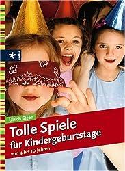 Tolle Spiele für Kindergeburtstage: von 4 bis 10 Jahren