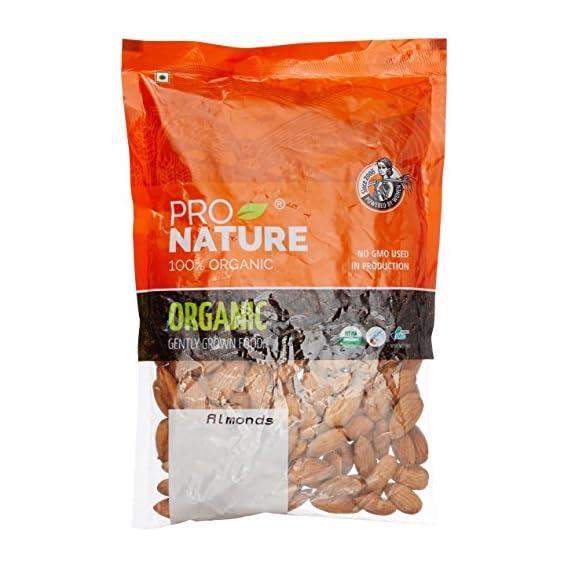 Pro Nature 100% Organic Almonds, 250g