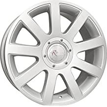 Audi Style Series 166 9 Spoke Silver Alloy Wheel 17x7.5 5-112mm (+35mm Offset) (57.10mm Center Bore)