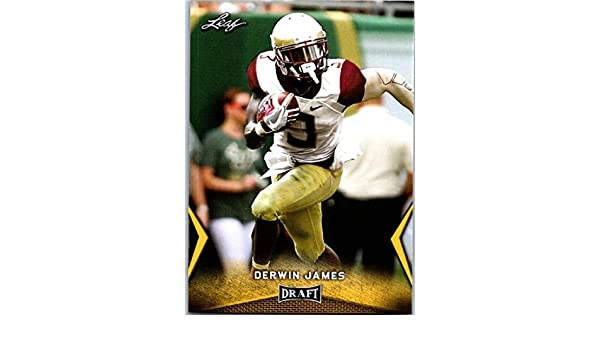 Amazon.com  2018 Leaf Draft Gold  21 Derwin James Florida State Seminoles  Football Card  Collectibles   Fine Art 4ab34cbe1