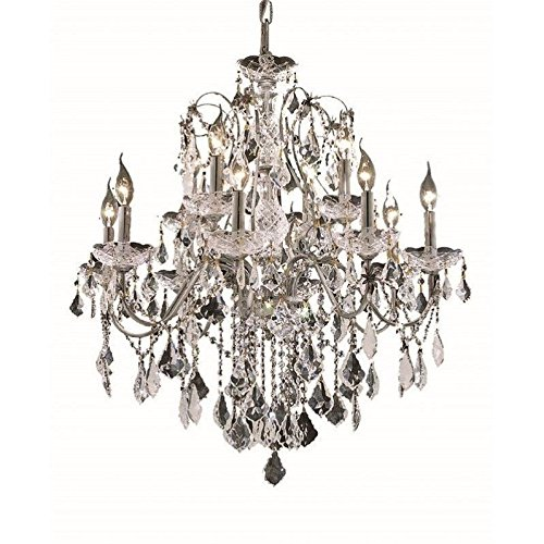 Light 2 Tier Crystal Chandelier - 2