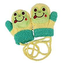 1Pcs Cute Cartoon Frog Unisex Baby Kid Keeping Warm Gloves