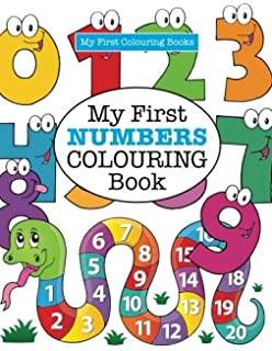 my first numbers colouring book crazy colouring for kids - Coloring Books For Toddlers