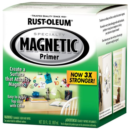 Rustoleum Specialty 247596 1 Quart Magnetic Latex -