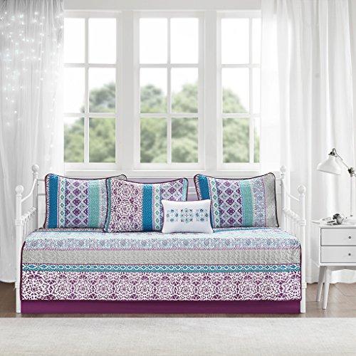 Intelligent Design Joni Daybed Set, Purple (Comforter Cheap Daybed Sets)