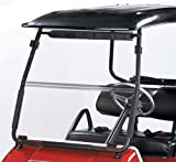 CLEAR FOLD DOWN WINDSHIELD FOR CLUB CAR DS GOLF CART FITS YEARS 1982-1999. LOWER 48 US STATES ONLY!