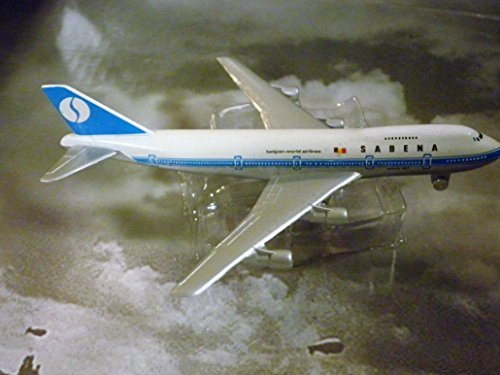 SABENA, National Belgian Airline 747 Jet Plane 1:600 Scale Die-cast Plane Made in Germany by Schabak