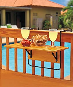 Folding Deck Table   Natural