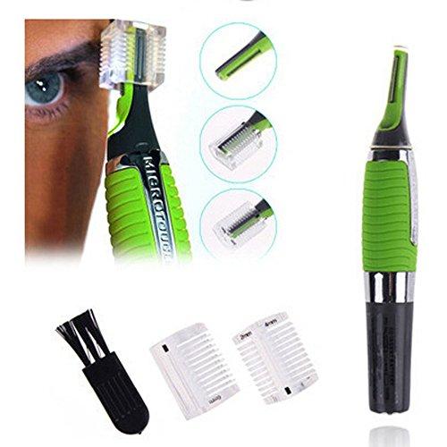 SQWUYON Micro Precision Ear Nose Eyebrow Hair Trimmer Shaver Machine Men's Travel LED Light Shavers Razors For Men Shaving Razor from TMQ