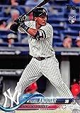 #2: 2018 Topps #305 Miguel Andujar New York Yankees Rookie Baseball Card