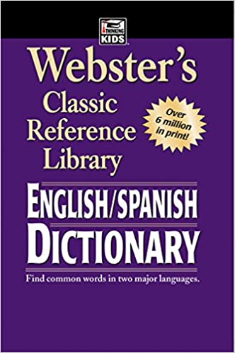 Amazon Com Webster S English Spanish Dictionary 9780769615905