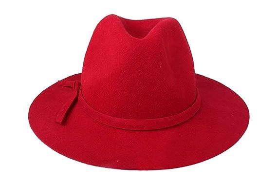 Cappelli Cappello A Campana Donna Uomo Trilby Inverno Unisex Autunno  Cappello Nero Anni 20 Cappello Feltro Scope 57Cm Caps (Color   Kamel 12d0423781a8