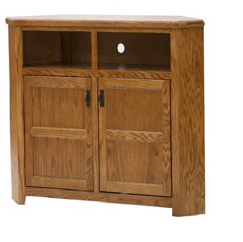 Eagle Tall Mission Corner TV Console, 50″ Wide,