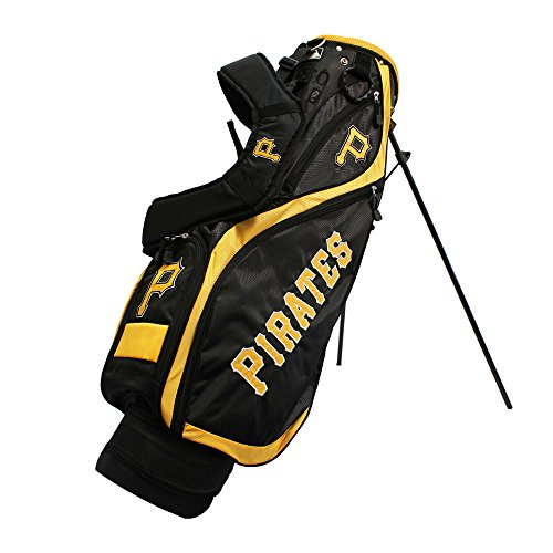 Team Golf 97127 Pittsburgh Pirates MLB Nassau Golf Stand Bag by Team Golf