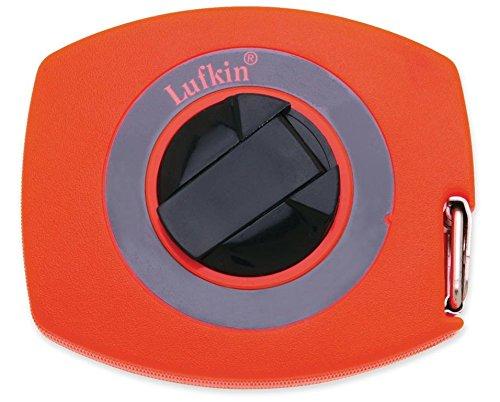 - Lufkin HV30CME 10mm (3/8) x 30m (100') Hi-Viz Universal Lightweight Long Steel Tape Measure