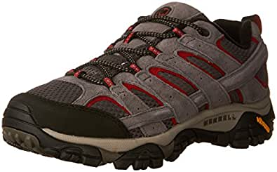 Merrell Men's Moab 2 Vent Hiking Shoe, Charcoal Grey, 7 M US