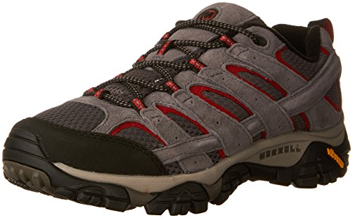 Merrell Men's Moab 2 Vent Hiking Shoe, Charcoal Grey, 13 M US (Best Grip Shoes For Roofing)