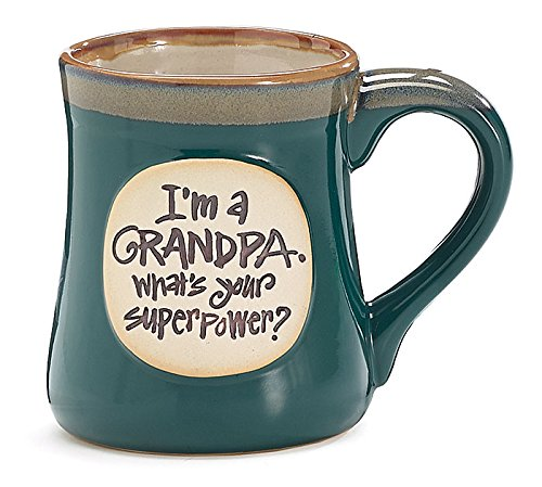 Grandpa Whats Super Power Ceramic