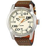 Hugo Boss 1513418 Oslo Brown Leather Mens Watch