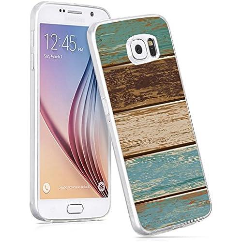 Premium Slim Lightweight Case for Samsung Galaxy S7 vintage personalized texture art Sales