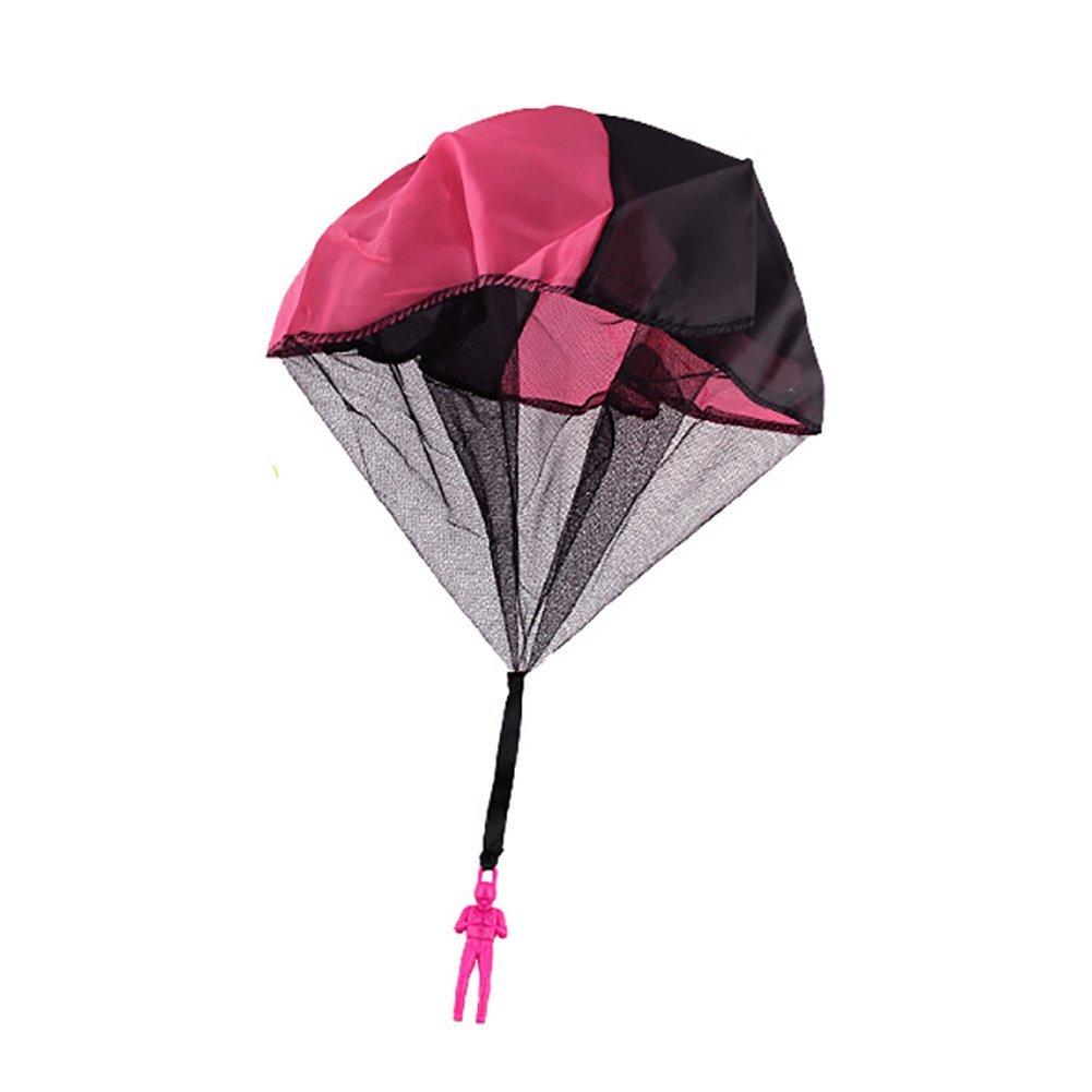 Xiton Handwurf Mini Fallschirm Spielzeug Freizeit Spielzeug für Kinder (zufällige Farbe) 1 PC