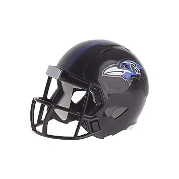 c8e47319e7e Riddell BALTIMORE RAVENS NFL Speed POCKET PRO MICRO POCKET-SIZE MINI  Football Helmet  Amazon.co.uk  Sports   Outdoors