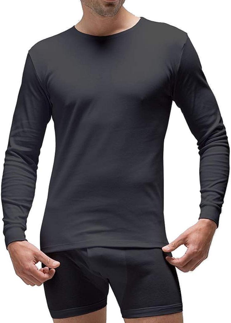 RAPIFE Camiseta m/l Hombre Negra: Amazon.es: Ropa y accesorios