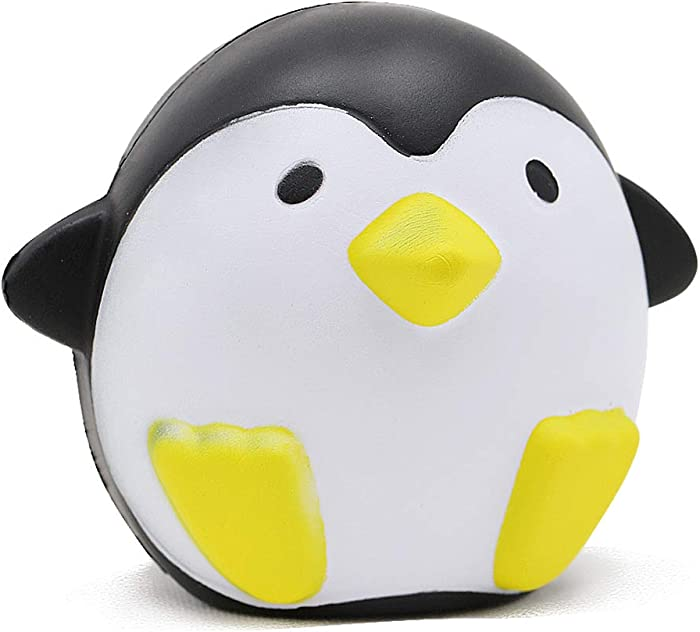 VCOSTORE Jumbo Squishies Penguin, Slow Rising Squishy Animals Toys Soft and Scented Animals Squishies Stress Relief for Adult Children Gift Party Favor