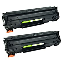 2 Pack The Red P ® Compatible Toner Cartridge Replacement for 85A CE285A 285A for HP LaserJet Pro M1210 MFP Series, M1212nf MFP, M1214nfh MFP, M1217nfw MFP, P1100 Series, P1102, P1109w / LaserJet M1132, P1100 Series, P1102W Printers