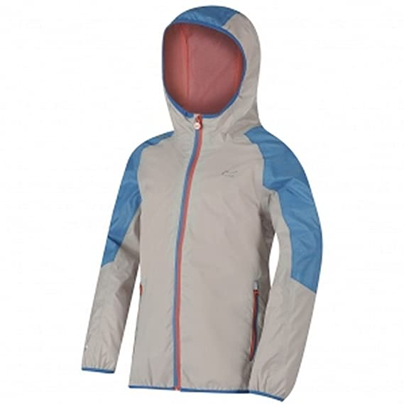b02a8a031 Regatta Great Outdoors Childrens/Kids Teega Reflective Waterproof Hooded  Jacket (3-4 Years