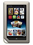 Barnes & Noble Nook Tablet 8GB Touchscreen 7'' Google Play w/ Chrome Browser WiFi Tablet eBook Reader - Android - Dual-Core 1 GHz processor w/ Expandable Memory and Extra-long Battery Life BNTV250-8GB-GRY