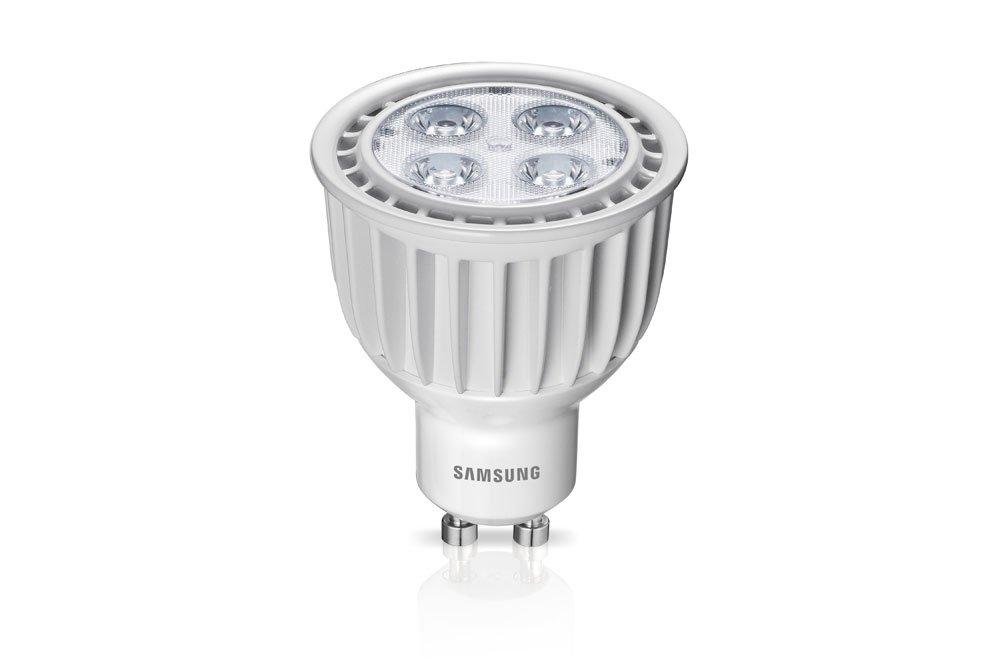 Samsung LED-Lampe 6,5W (ersetzt 50 Watt) 827 GU10 Reflektorlampe 50 ...