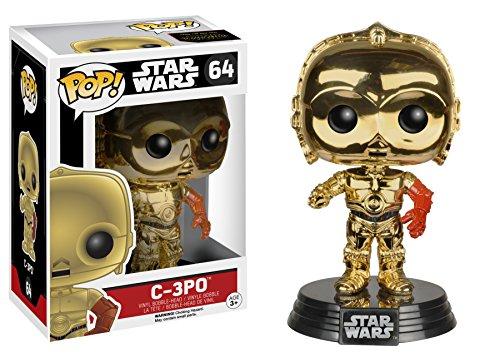 - Funko Star Wars Episode 7 The Force Awakens C-3PO Pop Vinyl Chrome Exclusive