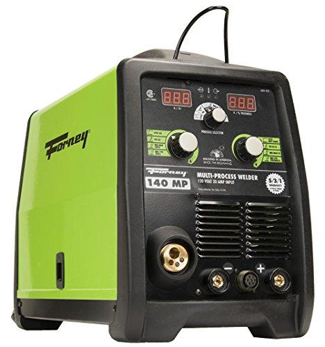 Forney 322 140-Amp MIG/Stick/TIG Multi-Process Welder, 120-Volt
