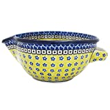 Polish Pottery 7'' Handmade Batter Bowl 240-French Country