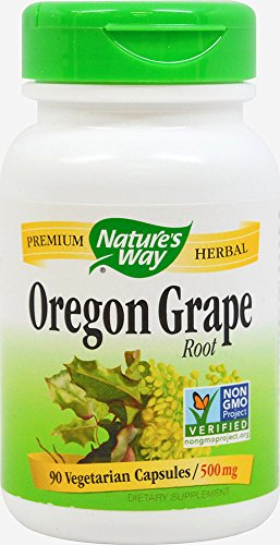 Nature's Way Oregon Grape Root 500 mg-90 Capsules Review