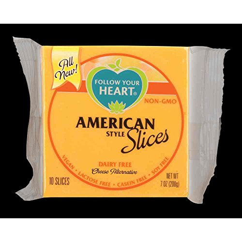 Follow Your Heart American Style Slices Cheese Alternative, 7 Ounce - 12 per case.