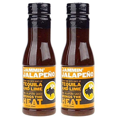 Buffalo Wild Wings Barbecue Sauces, Spices, Seasonings and Rubs For: Meat, Ribs, Rib, Chicken, Pork, Steak, Wings, Turkey, Barbecue, Smoker, Crock-Pot, Oven (Jammin Jalapeno, (2) Pack) ()