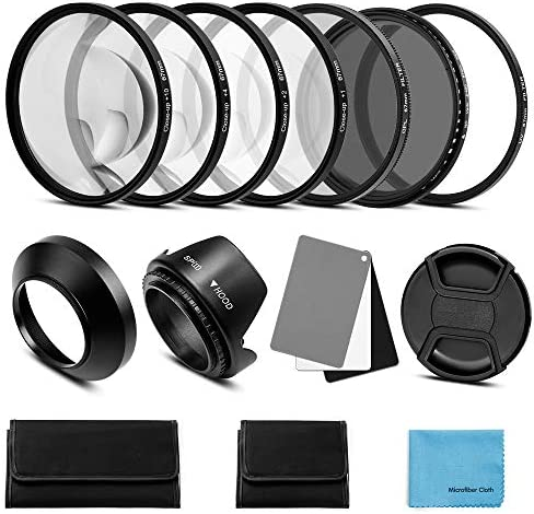 Fotover 77 Mm Lens Filter Kit Uv Cpl Polarisation Camera Photo