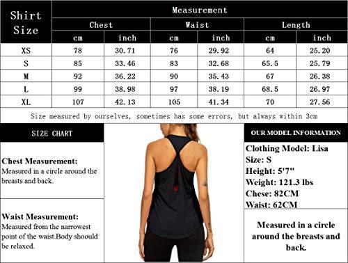 Women\'s Sport Tank Tops Yoga Workout Tops Open Back Running Sports Shirts for Women