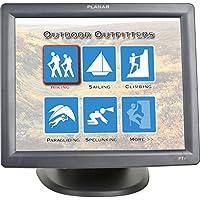 Planar PT1700MX 17 Edge LED LCD Touchscreen Monitor - 5 ms - 5-wire Resistive - 1280 x 1024 - SXGA - Adjustable Display Angle - 16.7 Million Colors - 800:1 - 240 Nit - Speakers - USB - VGA - Black - RoHS - 3 Year - 997-4158-01