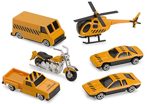 Used, Diecast Cars – Construction Vehicles Set. 6 Piece Playset for sale  Delivered anywhere in USA