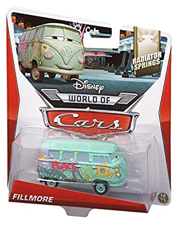 Martin Voiture Miniature Echelle 1:55 Disney Pixar Cars 2 You The Bomb Mater